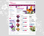 webdesign : flowers, birthday, lilies