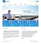 webdesign : logistix, services, delivery