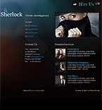 webdesign : private, investigation, detective