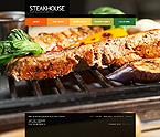 webdesign : steakhouse, house, delicious