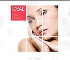webdesign : beauty, procedure, treatment