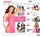 webdesign : boutique, fashion, women