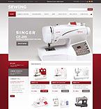 webdesign : cloth, decor, yarn