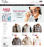 webdesign : tailor, man, shop