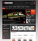 webdesign : fisherman, spinning, line