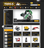 webdesign : tools, store, industrial