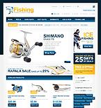 webdesign : store, fisherman, tools