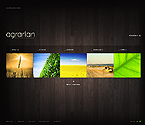 webdesign : cereals, products, delivery