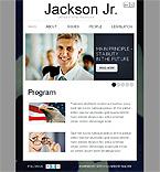 webdesign : politician, leader, candidates