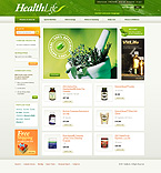 webdesign : tablets, medical, supplements
