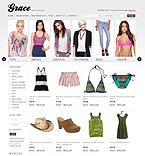 webdesign : pant, robe, bag