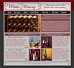 webdesign : production, red, bottle