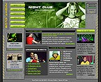 webdesign : club, music, stars
