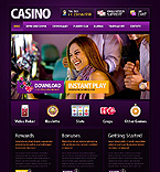 webdesign : casino, players, participant
