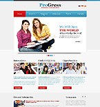 webdesign : progress, college, administration