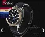 webdesign : catalog, Rolex, clock