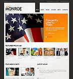 webdesign : Monroe, political, organization