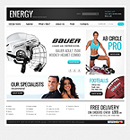 webdesign : energy, boxing, swimming