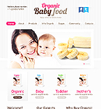webdesign : puree, organic, nutrients
