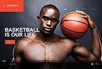 webdesign : basket, hoop, tickets