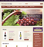 webdesign : store, cabernet, taste