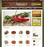 webdesign : spice, flavour, powder