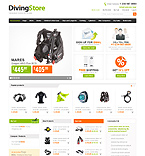 webdesign : store, mask, ring-buoy