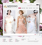 webdesign : reception, bridal, flowers
