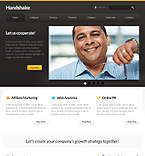 webdesign : handshake, company, customer