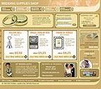 webdesign : rings, accessories, bridegroom