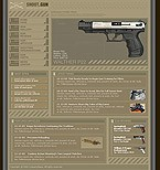 webdesign : weapon, Smith, ammunition