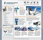webdesign : extreme, snowboarding, show