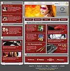 webdesign : club, dancers, disks