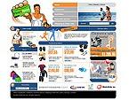 webdesign : neutral, snowboarding, club