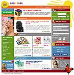 webdesign : care, diaper, children