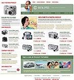 webdesign : store, digital, Canon