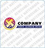 webdesign : logo, circle, fire