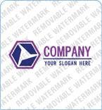 webdesign : logo, geometrical, purple