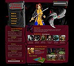 webdesign : catalogue, action, adventure