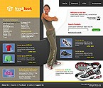 webdesign : equipment, watch, sneakers