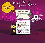 webdesign : kids, games, topics