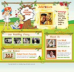 webdesign : wedding, page, first