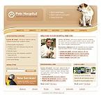 webdesign : kitten, vet, vitamins