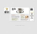 webdesign : food, cocktail, cancellation