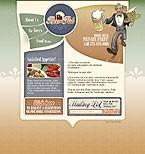 webdesign : beer, waiter, cooking