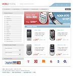webdesign : cameras, phone, prices