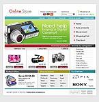 webdesign : Sony, Canon, order