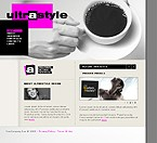 webdesign : coffee, project, partners