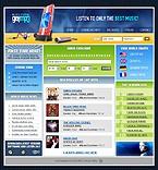 webdesign : singers, album, internet