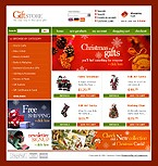 webdesign : gift, shipping, oscommerce